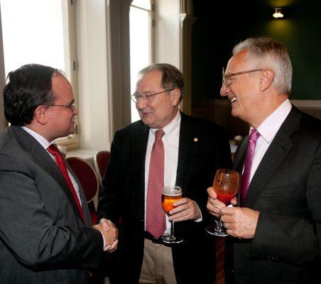 Carlos Álvarez, Juan Pérez Mercader y Ángel Durández