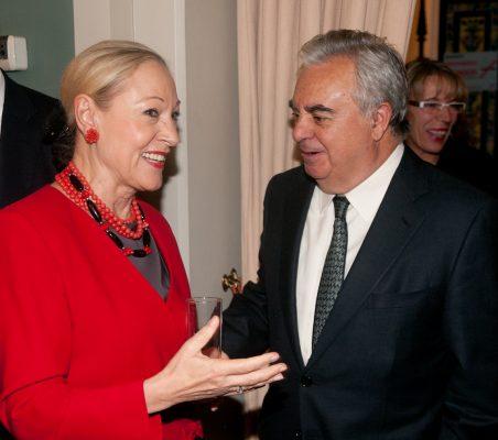 Benita Ferrero-Waldner y José Luis Ripoll