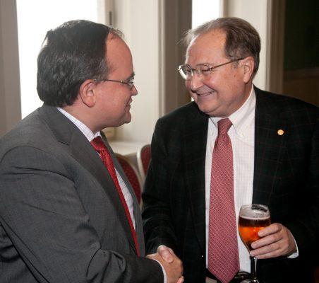 Carlos Álvarez y Juan Pérez Mercader
