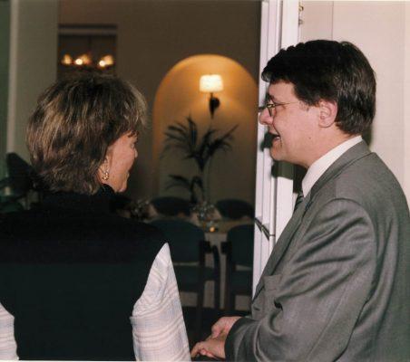 Flora Peña y Jordi Sevilla