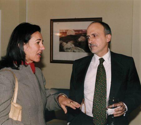 Ana Botín y Óscar Fanjul