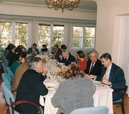 Almuerzo Jordi Sevilla
