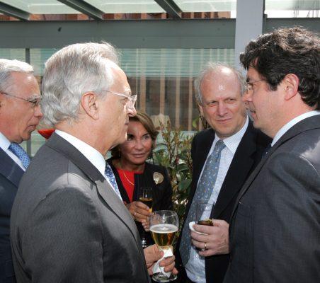 Ángel Bizcarrondo, Ángel Durández, Luisa Peña, Carlos Malamud y Martín Ortega Carcelén