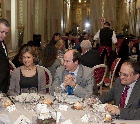 Isabel García Tejerina,  Antonio  Sánchez Bustamante, Carlos Álvarez