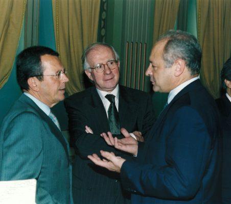 Santiago Martínez Lage, Eduardo Bautista  Y Carlos González