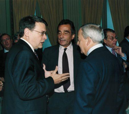 Jordi Sevilla, Carlos Fernández Lerga y Carlos Solchaga