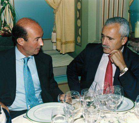 Miguel Iraburu y José Eadio Seco