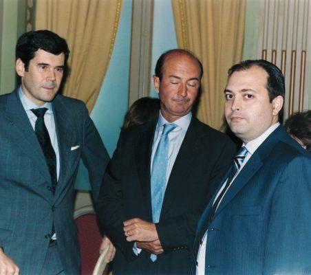 José María Sanz Magallón Miguel Iraburu y Alfredo Soriano