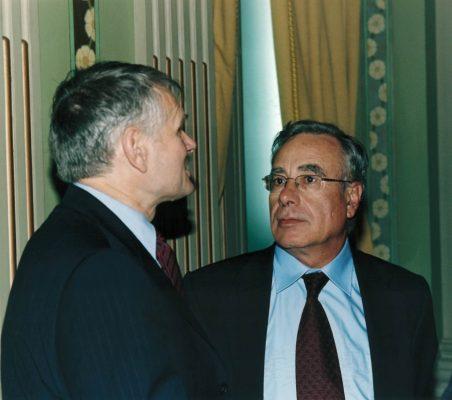 George Boomgaarden y Ángel Bizcarrondo