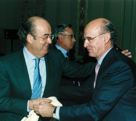 Emilio Novela y Pedro Luis Uriarte