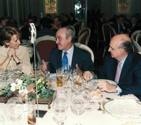 Esperanza Aguirre, Fernando Almansa y Pedro Luis Uriarte