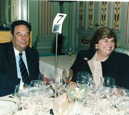 Embajador Abel Parentini Posse  y Mª Jesús Escribano