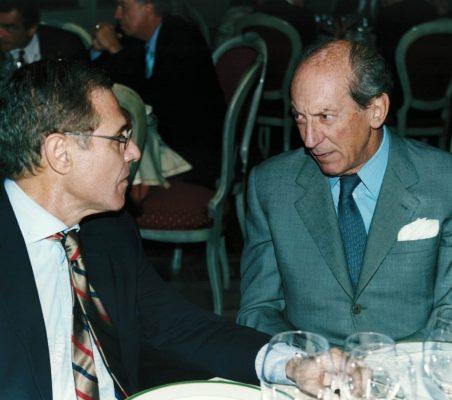 Ramón Reyes y Embajador Raniero Vanni d´Archirafi
