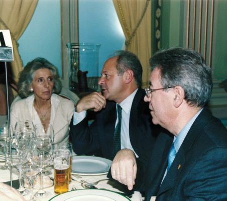 Mª Jesús Prieto, Carlos González y Jacinto García Palacios