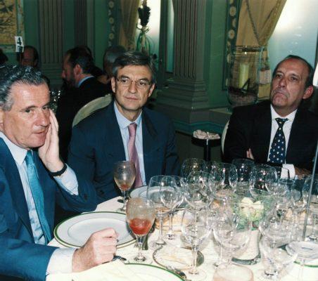 Manuel Gasset , Fernando Ruiz y José Casas