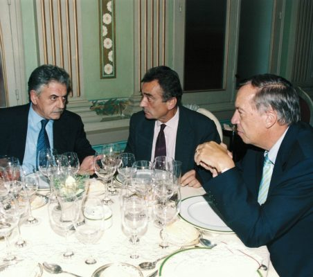 Eulogio Naz, Carlos Fernández Lerga y Carsten Moser