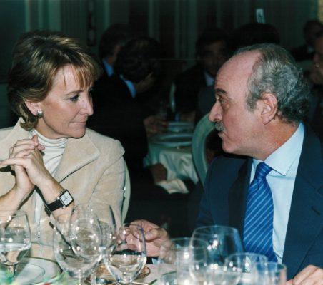 Esperanza Aguirre y Fernando Almansa