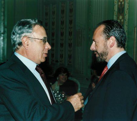 Ángel Bizcarrondo y Luis Fraga