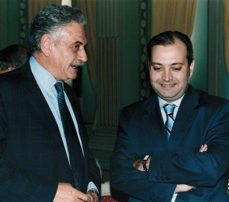 Eugenio Naz y Alfredo Soriano