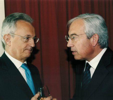 Ángel Durández y Pedro Pérez