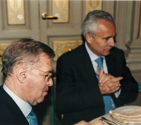 Antonio Colino y José Eladio Seco