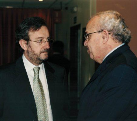Jesús Martínez Vazquez y José Luis Sáenz de Miera