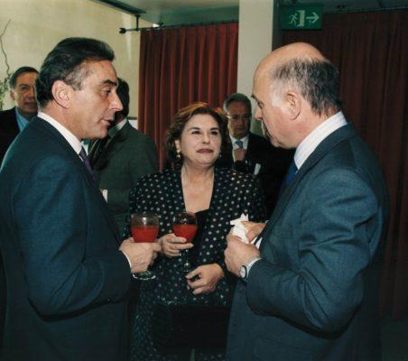 Carlos Fernández Lerga, Mª Jesús EScribano y José Manuel Reyero