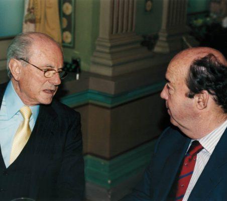 Eduardo de Santis y Salvador Martos