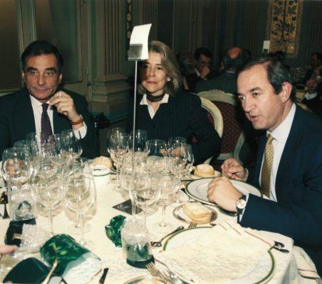 Carlos Fernández Lerga, PIlar Tena y Claudio Boada