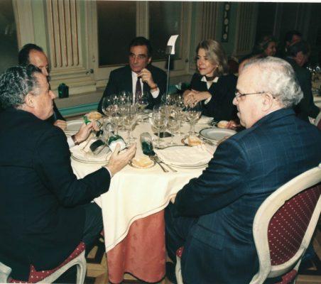 Manuel Gasset, Luis Fraga, Carlos Fernández Lerga , Pilar Tena y José Luis Sáenz de Miera