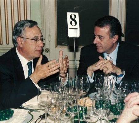Ángel Bizcarrondo y Carlos  Salas
