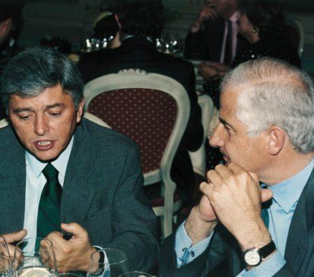 Embajador Carlos Moreira y Alfonso Martínez de Irujo