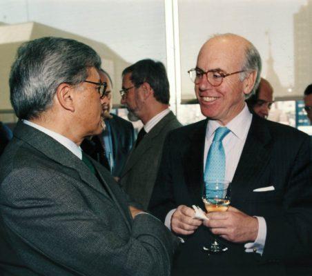 Carlos Moreira y Manuel de Olazábal