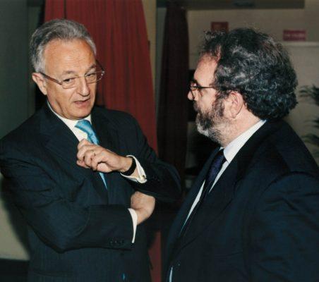 Ángel Durández y Jon Juaristi