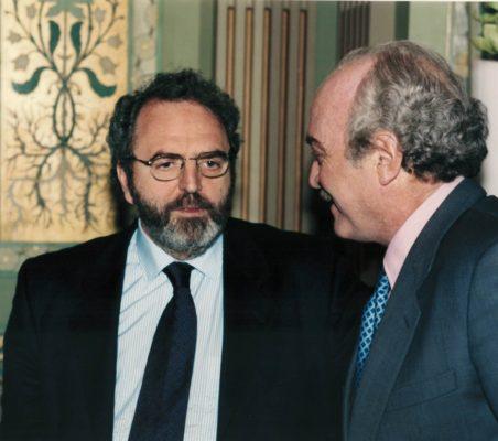 Jon Juaristi y Fernando Almansa