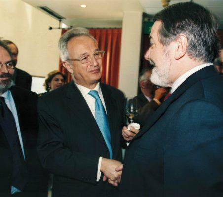 Jon Juaristi , Ángel Durández y Jaime Mayor Oreja