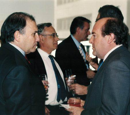 José María Vizcaíno, Ángel Bizcarrondo y Juan Astorqui