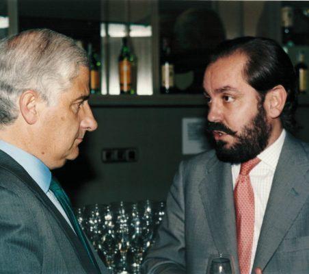 Alfonso Martínez de Irujo y Ramón Pérez Maura
