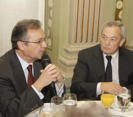 Juan Pablo de la Iglesia y Carlos Solchaga