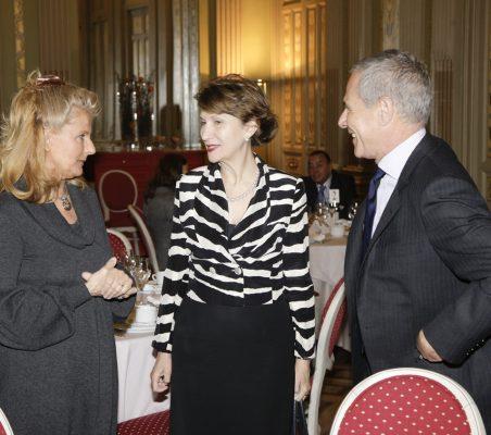 Isabel Tocino, Asunción Valdés y Ramón Reyes