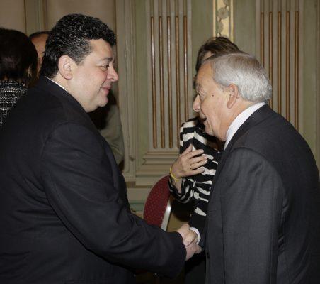 Raúl Félix Díaz y Carlos Solchaga