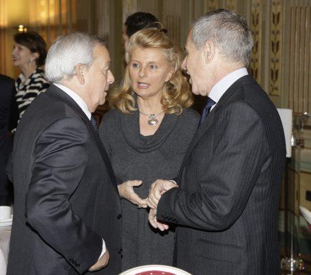 Carlos Solchaga, Isabel Tocino y Ramón Reyes