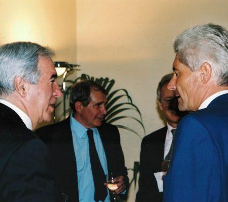 Pablo Bravo, Javier Baviano y Erich Krohn