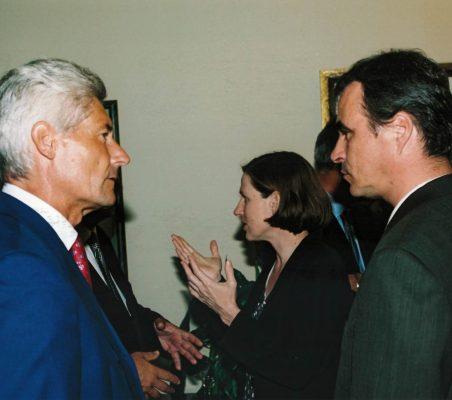 Erich Krohn, Heike Göbel y Michael Psotta
