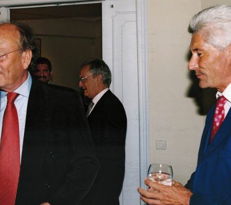Javier Ramiro y Erich Krohn