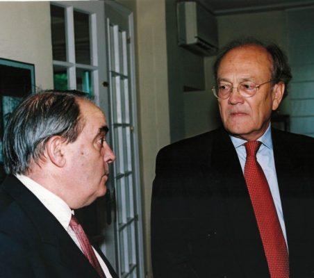 Santiago García Echevarría y Javier Ramiro