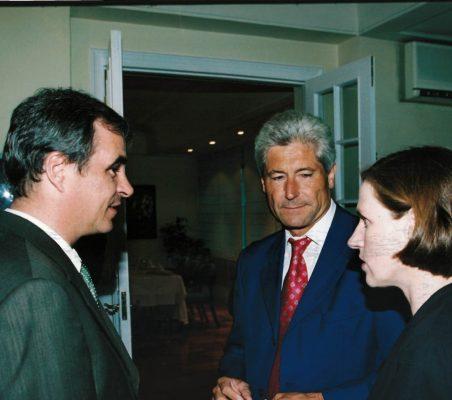 Michael Psotta, Erich Krohn y Heike Göbel