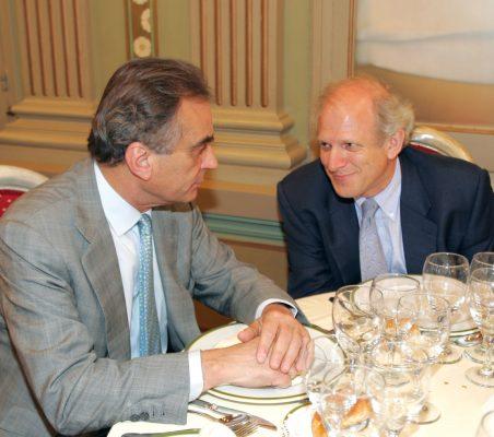 Carlos Fernández Lerga y Carlos Malamud