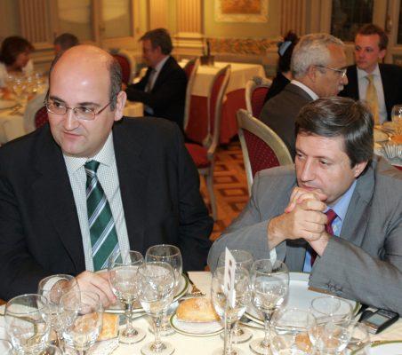 Almuerzo Diego López Garrido
