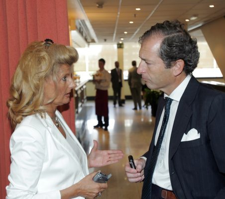 Isabel Tocino y Borja Baselga